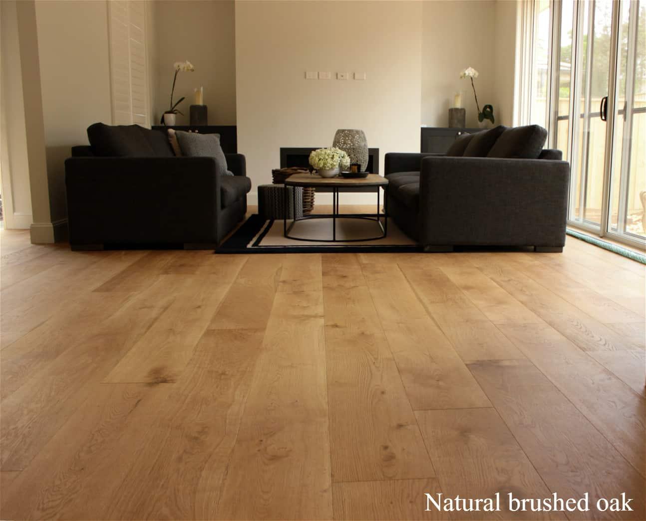 Natural brushed oak