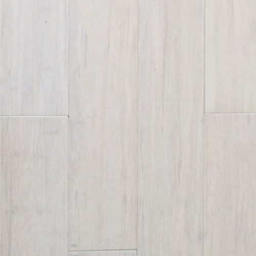 White BT Bamboo Flooring