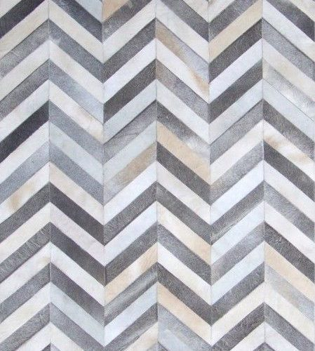 COWHIDE CHEVRON